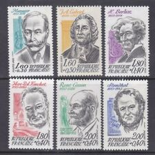 France B550-55 MNH 1983 Famous People Complete Set of 6 Very Fine