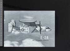 (192) Brochure aviation Aircraft The Grumman Hawkeye E-2A