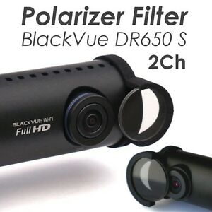 New 2016 MOOVIKA Polarizer Filter Clip Compatible BlackVue DR650S 2CH