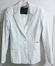 Philipp Plein Couture White Gold Studded Skull Suit Blazer Jacket Size S EUR S