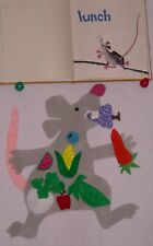 Lunch - Color Recognition Fruit and Vegetables Felt/Flannel Board Story Set
