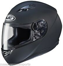 HJC CS-R3 Motorcycle Helmet Flat Matte Black L LG Large Full Face DOT CSR3