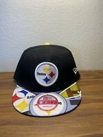 Pittsburgh Steelers New Era 9Fifty Coolera OnField Adjustable Snapback Hat NFL