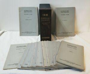 Elementary Electronics Course IBM International Business Machines ENDICOTT 1946