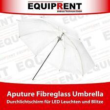 Aputure Fibreglass Umbrella 82cm Durchlichtschirm f. Blitze / LED Leuchten EQM56