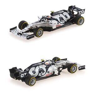 1/43 Minichamps Alpha Tauri Honda AT1 N°10 Pierre Gasly Winner GP Monza 2020