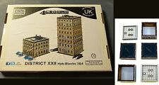 4Ground 10S-JUZ-S2 10mm Urban Zone District XXII Hab-Blocks 3&4 Terrain Building