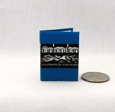 FRANKENSTEIN 1:6 Scale Readable Illustrated Book Miniatures Book Barbie Scale