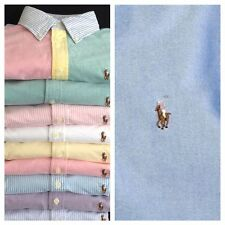 NEW  RALPH LAUREN WOMEN'S LONG SLEEVE  OXFORD BUTTON DOWN CUSTOM FIT SHIRT TOP