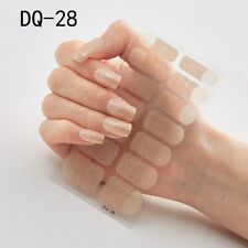 Nail Art Stickers Self Adhesive DIY Stylish Nail Wraps Full Cover Sticker (DQ28)