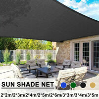 Sun Shade Sail Canopy Rectangle Sand UV Block Awning Top Cover Backyard Patio