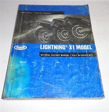 Werkstatthandbuch / Workshop Manual Harley Davidson Buell Lightning X1 2002
