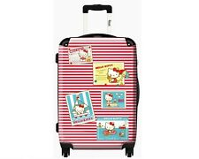 Hello Kitty Post Cabin Luggage - Lightweight, Hard Shelled Trolley Suitcase