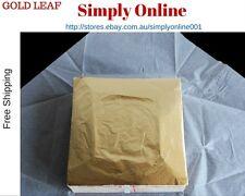 100 sheets 14 X 14cm Imitation gold leaf gilding foil copper leaf -Free Shipping