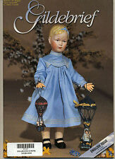 Gildebrief 1-2005 Dollmaking Antique Dress Patterns Knit Parasols, Comb/Brush