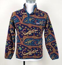 Patagonia Vintage Snap-T Fleece Mens S small alligator pullover jacket USA VTG