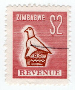 (I.B) Zimbabwe Revenue : Duty Stamp $2