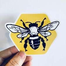 honeycomb vinyl sticker | beekeeping beekeeper bee honeybee