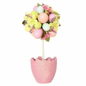 Easter Egg Decorated Topiary Tree Decoration