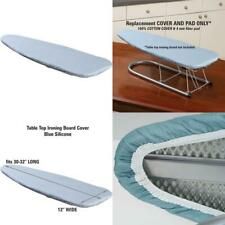 Household Essentials 1 Piece Tabletop Ironing Board Cover  Pad 100% Cotton Cove
