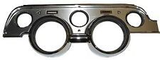 1967-1968 Ford Mustang Instrument Bezel, Brushed Aluminum