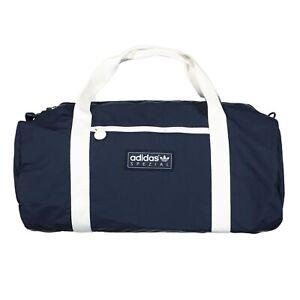 adidas SPZL Portslade Bag Night Navy Duffle Gym Travel Blue Handbag H31103 Rare