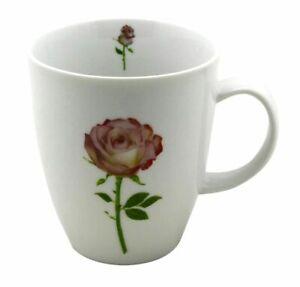 Cup und Mug Becher Blumen  Rose 400ml