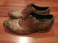 Colehaan Nike Air C09582U Mens Dress Oxford Lace Up Shoes Loefers Brown Size 11