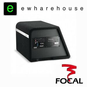 """FOCAL BOMBA BP20 - 8"""" Car Audio One Channel Enclosed Active Subwoofer."""