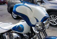 "Harley Davidson Fatboy Lo Batwing Fairing 5 1/4"" inch Speaker Cutouts"