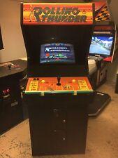 Original working Atari Namco Rolling Thunder arcade cabinet