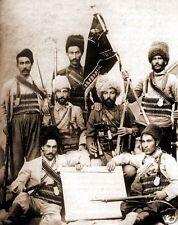 Armenian Military Fighters 1915 Turkey World War 1, 5x4 Inch Reprint Photo 1