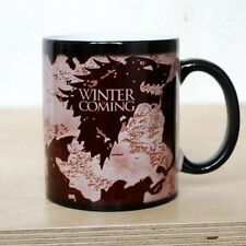 Game of Thrones Map Mug Ceramic Cup Heat Sensitive Color Changing X-mas Gift New