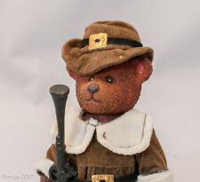 Holiday Bear Thanksgiving  Pilgrim Vintage Collectible Decorative Charming New