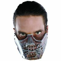 Cannibal Crazy Mask Hannibal Lector Halloween Adult Costume Silence Of The Lambs