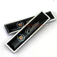 Car Decoration Accessories Sticker Fender Emblem Badge Decal Logo For Cadillac