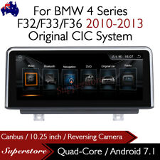 """10.25"""" Android 10.0 Quad Core Car Multimedia  GPS For BMW 4 Series F32/F33/F36"""
