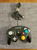 Official OEM Nintendo Gamecube Controller Black DOL-003 Authentic - TESTED