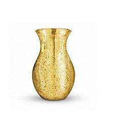 Teleflora's Mercury Glass Royal Vase Gold -12R800