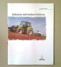 DEUTZ  Programm Dieselmotoren Landtechnik