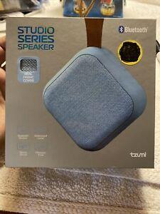 Tzumi Studio Series Speaker Square Mini Waterproof Bluetooth This Sounds Great