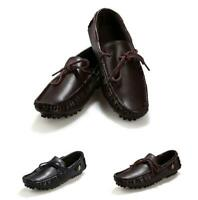 Men's Gommino Leisure Boat Flat Driving Slip On Moccasins Leather Shoes Comfy SZ