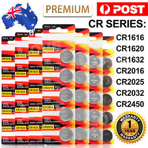 CR2032 CR1616 CR1620 Button Lithium Batteries CR1632 CR2450 CR2016 CR2050Battery