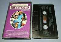 V/A GREATEST HITS OF THE SEVENTIES VOLUME 2 cassette tape album