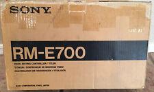 Sony Rm-e700 Video Editing Controller Titler