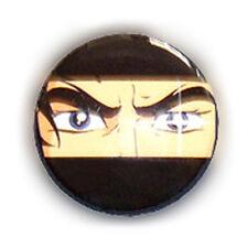 Badge REGARD MANGA Retro Dessin animé culte vintage années 80's animation Ø25mm