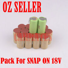 Battery Rebuild Pack For SNAP ON 18V CTA3850 CTB3185 CTB3187 3.0Ah Rattle Gun OZ