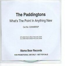 (876A) The Paddingtons, What's The Point in Anyt- DJ CD