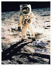 2 Photos Astronaut Neil Armstrong Signed Apollo 11 Buzz Aldrin, Michael Collins