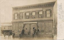 Rochester NY area * Delaware Hotel  RPPC 1907 *